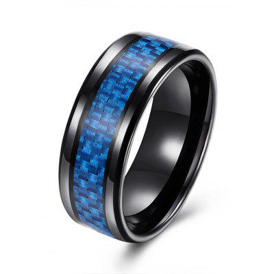 Weaving Shape Round Alloy Ring