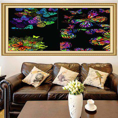 Buy COLORFUL Colorful Butterflies Patterned Decorative Multifunction Wall Art Painting for $11.43 in GearBest store