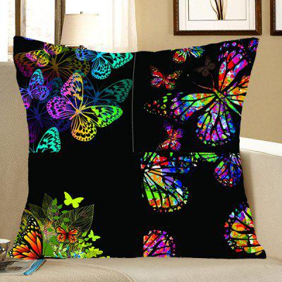 Butterfly Pattern Pillow Case