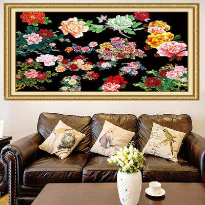 Buy COLORFUL Peonies Pattern Multifunction Decorative Wall Art Sticker for $19.83 in GearBest store