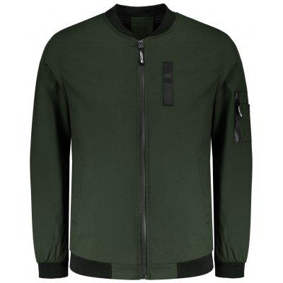 Mens Zipper Waterproof Jacket