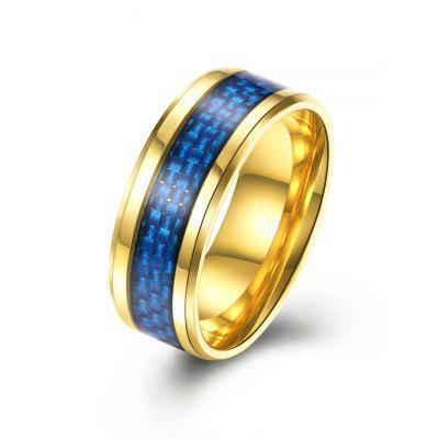 Weaving Pattern Metallic Ring