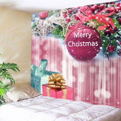Wall Hanging Art Christmas Bauble Gifts Print Tapestry