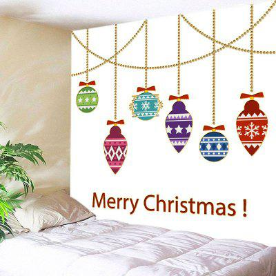 Wall Hanging Art Merry Christmas Decorations Print Tapestry
