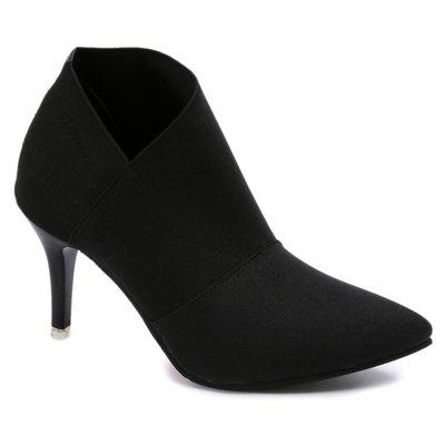 Stiletto High Heel Ankle Boots