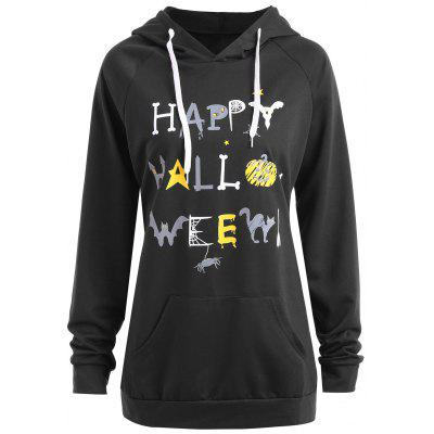 Happy Halloween Pumpkin Plus Size Hoodie