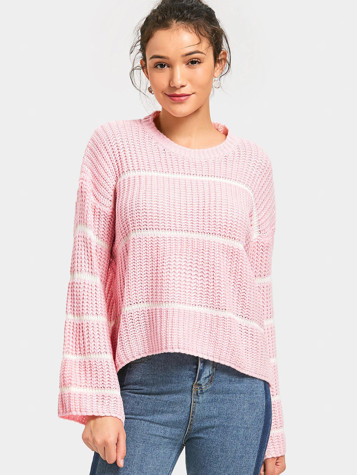 Stripes Chunky Oversized Sweater
