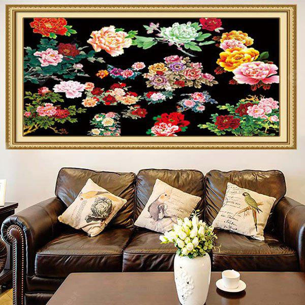 Peonies Pattern Multifunction Decorative Wall Art Sticker