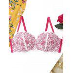 Lace Full Cup Push Up BH - ROSA