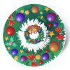 Christmas EDC Toy Round Fidget Spinner - GREEN