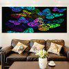 Colorful Butterflies Pattern Multifunction Stick-on Wall Art Painting - COLORFUL