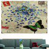 Butterfly Flowers Pattern Decorative Wall Art Painting - COLORFUL