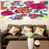 Floral Pattern Removable Multifunction Stick-on Wall Art Painting - COLORIDO