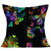 Colorful Butterfly Pattern Decorative Pillow Case - COLORFUL