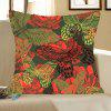 Artistic Butterfly Pattern Decorative Pillow Case - COLORFUL