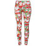 Santa Claus Christmas Game Leggings - COLORMIX