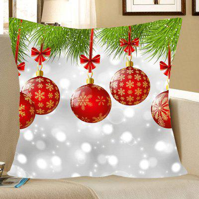 Christmas Baubles Pattern Pillow Case