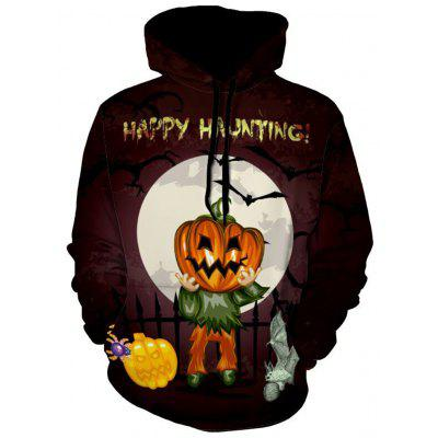Happy Haunting Holiday Pumpkin Halloween Hoodie