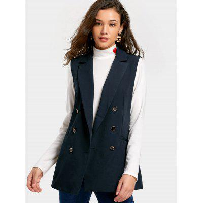 Double-breasted Pockets Waistcoat