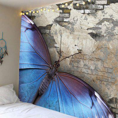 Brick Butterfly Pattern Wall Hanging Tapestry