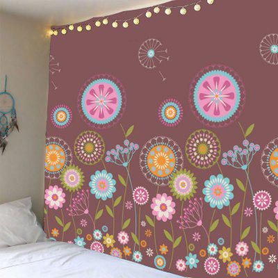 Buy COLORFUL Colorful Dandelion Pattern Waterproof Wall Hanging Tapestry for $18.34 in GearBest store