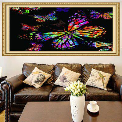 Buy Colored Butterflies Printed Multifunction Stick-on Wall Art Painting, COLORFUL, Home & Garden, Home Decors, Wall Art, Prints for $19.83 in GearBest store