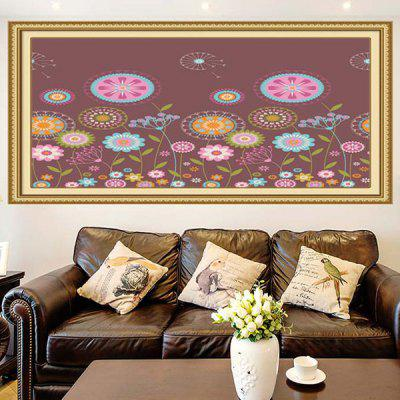 Colorful Dandelion Multifunction Stick-on Wall Art Painting