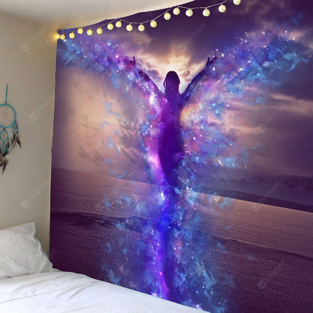 Starlight Butterfly Wing Pattern Wall Hanging Tapestry