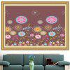 Colorful Dandelion Multifunction Stick-on Wall Art Painting - COLORFUL