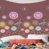 Colorful Dandelion Pattern Waterproof Wall Hanging Tapestry - COLORFUL