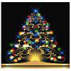Buy Dazzling Christmas Tree Pattern Removable Wall Sticker COLORFUL