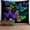 Colorful Butterfly Pattern Waterproof Wall Hanging Tapestry - COLORFUL