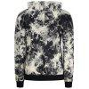 Hooded Drop Shoulder Tie Dye Pullover Hoodie - COLORMIX