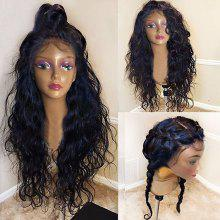 Long Free Part Shaggy Natural Wavy Lace Front Synthetic Wig