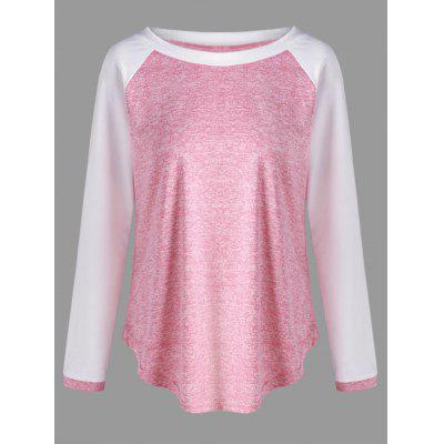 Elbow Patch Marled T-shirt
