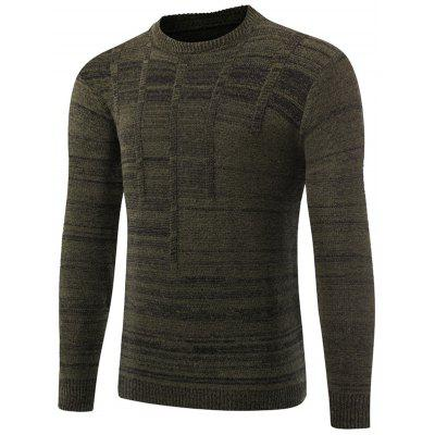 Space Dyed Crew Neck Sweater