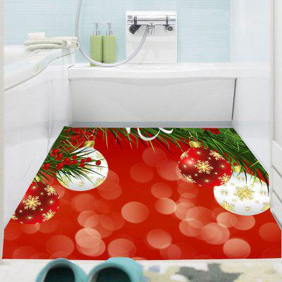 Buy BRIGHT RED Christmas Balloons Patterned Multifunction Decorative Wall Art Sticker for $19.83 in GearBest store