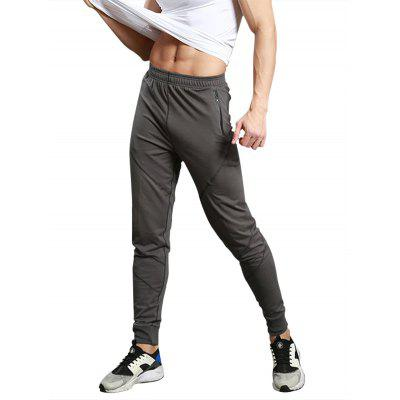 Zip Pocket Casual Jogger Pants
