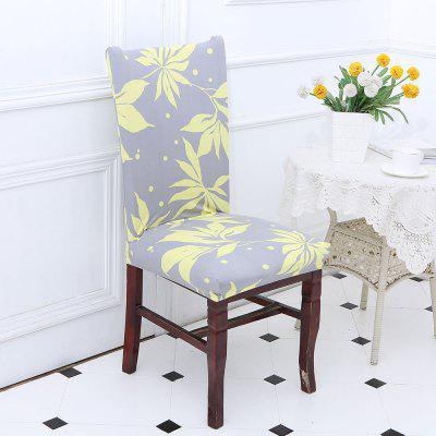 Leaves Pattern Chair Cover