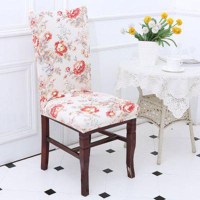 Floral Pattern Chair Cover