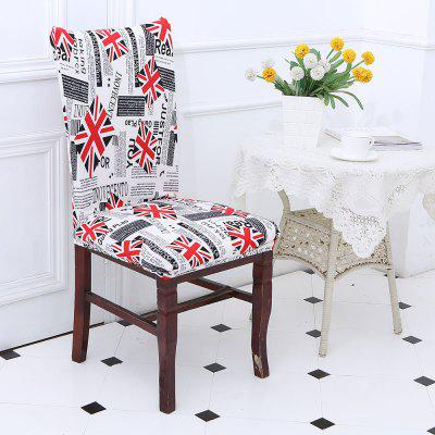 Union Jack Pattern Chair Cover