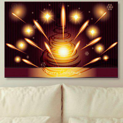Christmas Unframed Canvas Prints Wall Art Painting