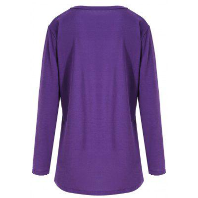 Plus Size Halloween Pumpkin Asymmetrical TeePlus Size Tops<br>Plus Size Halloween Pumpkin Asymmetrical Tee<br><br>Collar: Round Neck<br>Material: Cotton, Polyester<br>Package Contents: 1 x T-shirt<br>Pattern Type: Print<br>Season: Fall<br>Shirt Length: Long<br>Sleeve Length: Full<br>Style: Fashion<br>Weight: 0.3200kg