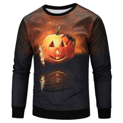 Crew Neck Long Sleeve Sweatshirt