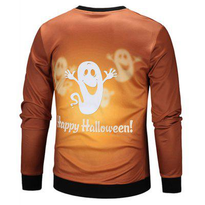 Crew Neck Cartoon Ghost Print Halloween SweatshirtMens Hoodies &amp; Sweatshirts<br>Crew Neck Cartoon Ghost Print Halloween Sweatshirt<br><br>Material: Cotton, Polyester<br>Package Contents: 1 x Sweatshirt<br>Shirt Length: Regular<br>Sleeve Length: Full<br>Style: Fashion<br>Weight: 0.4000kg