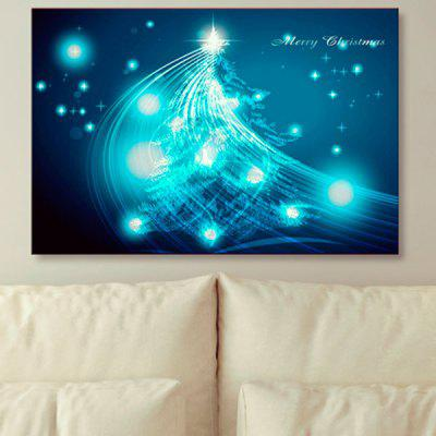 Christmas Tree Prints Canvas Wall Art Painting