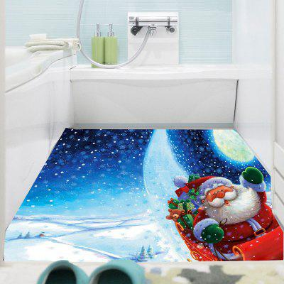 Moonlight Santa Claus Sticker mural polyvalent