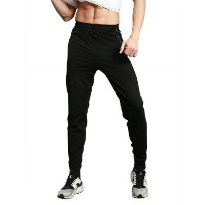 Zip Pocket Sports Jogger Pants