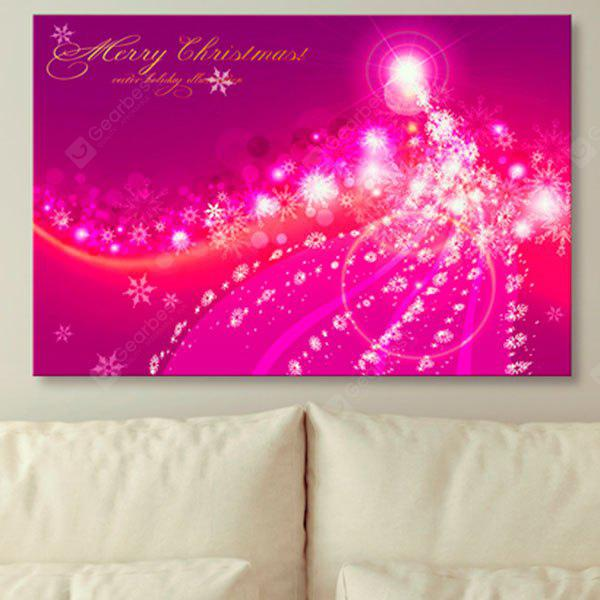 Copie de flocon de neige de Joyeux Noël Print Wall Art Canvas Painting