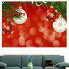 Christmas Balloons Patterned Multifunction Decorative Wall Art Sticker - BRIGHT RED